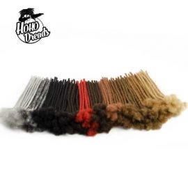 Afro kinky human hair loc extensions
