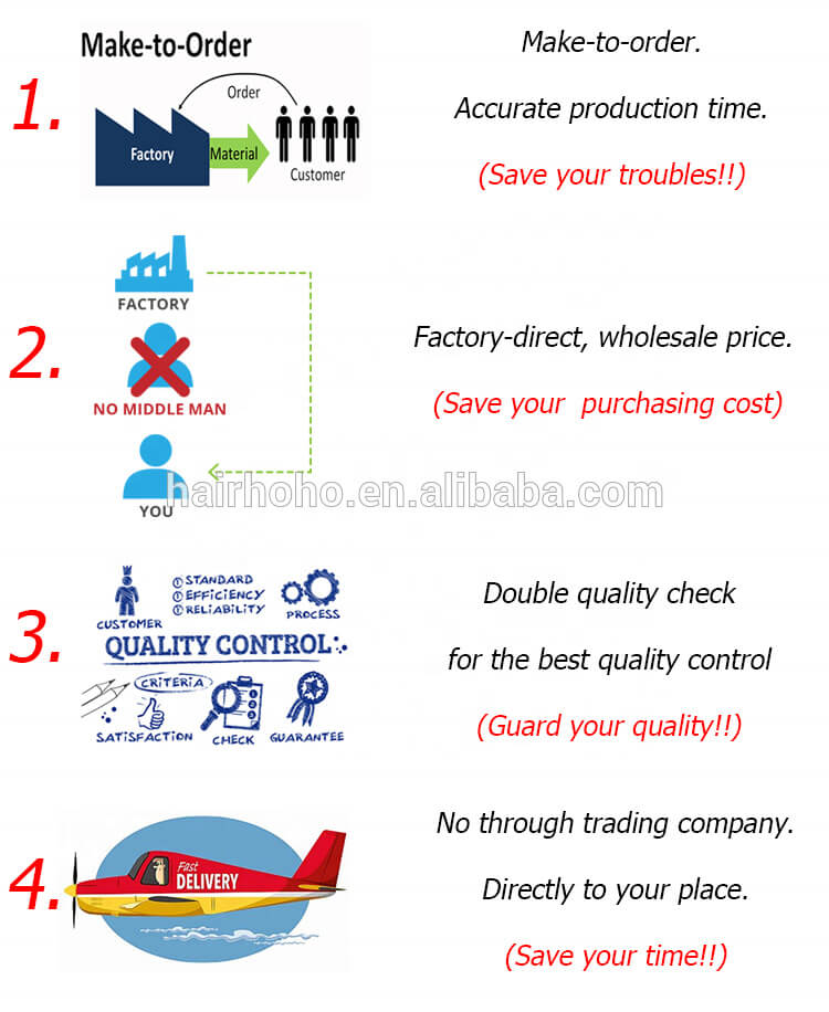 HOHOdreads factory advantages