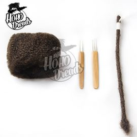Bulk human hair for locs