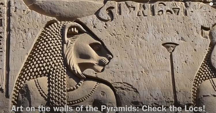 dreadlocks in Ancient Egypt
