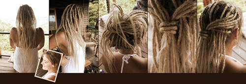 white people dreads
