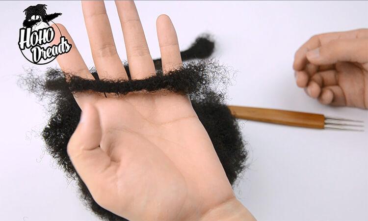 human hair loc extensions