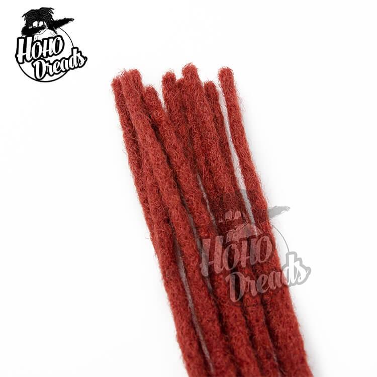 red hair dreadlocks