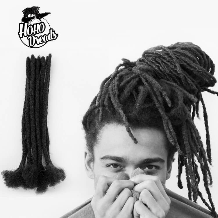 loc extensions with human hair