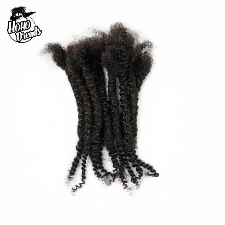 Textured locs afro kinky human hair